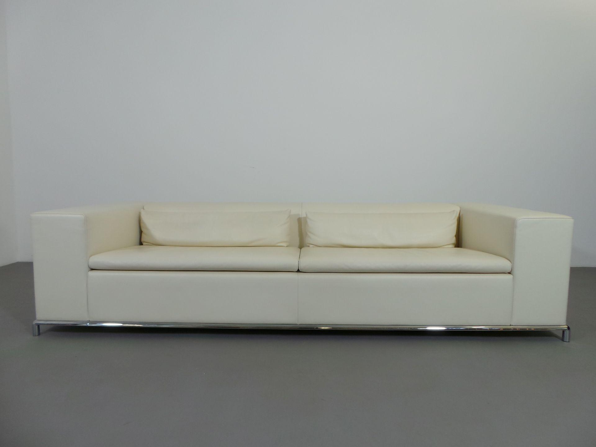 De Sede 3-Sitzer Sofa DS 7 Antonella Scarpitta Leder